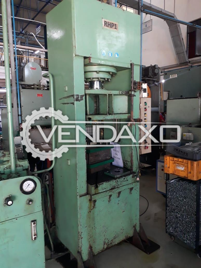 Hydraulic Power Press - 100 Ton