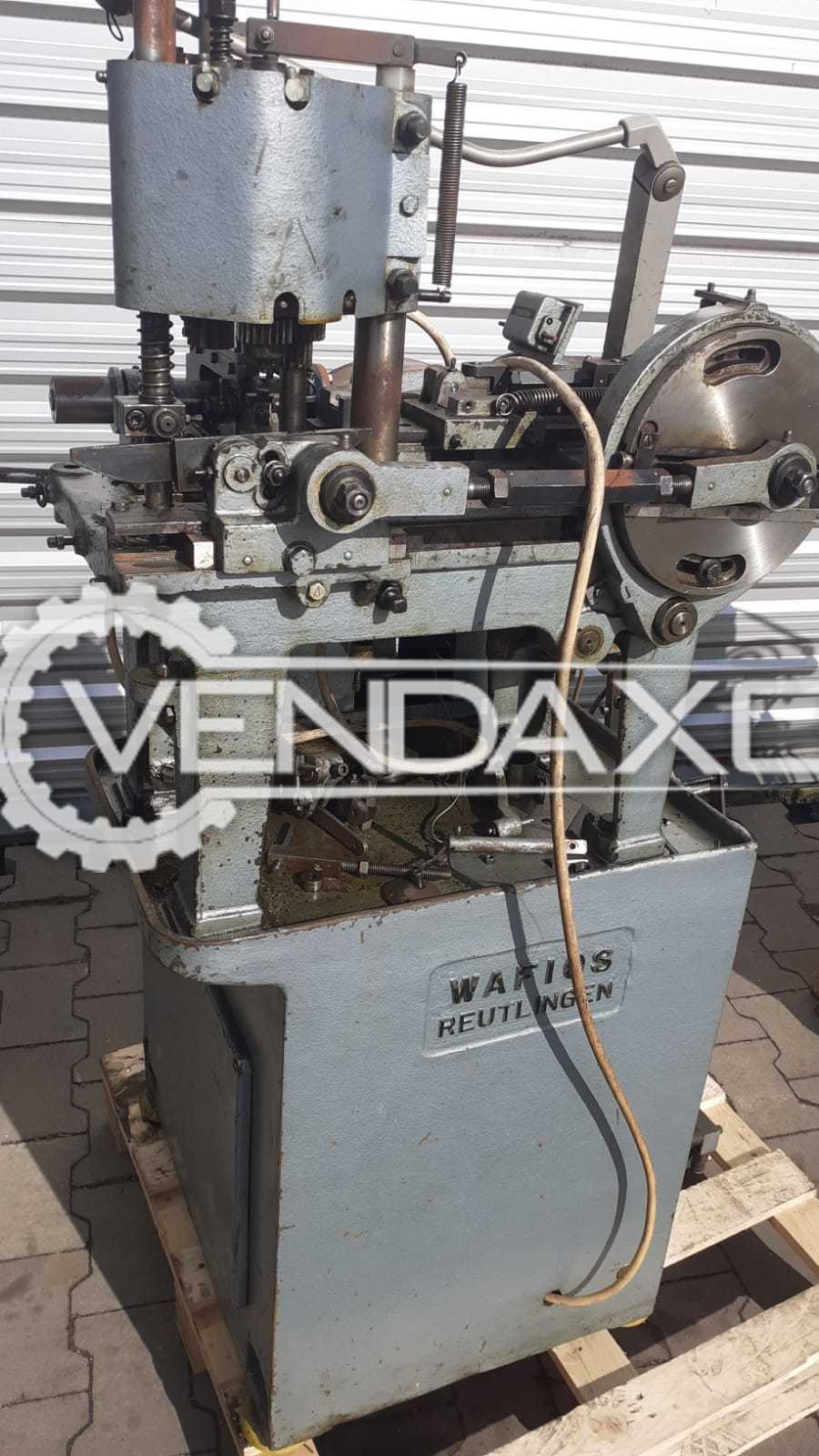 WAFIOS Reutlingen SFM 10/70 Spring Coiling Machine - 0.5 to 2.5 mm