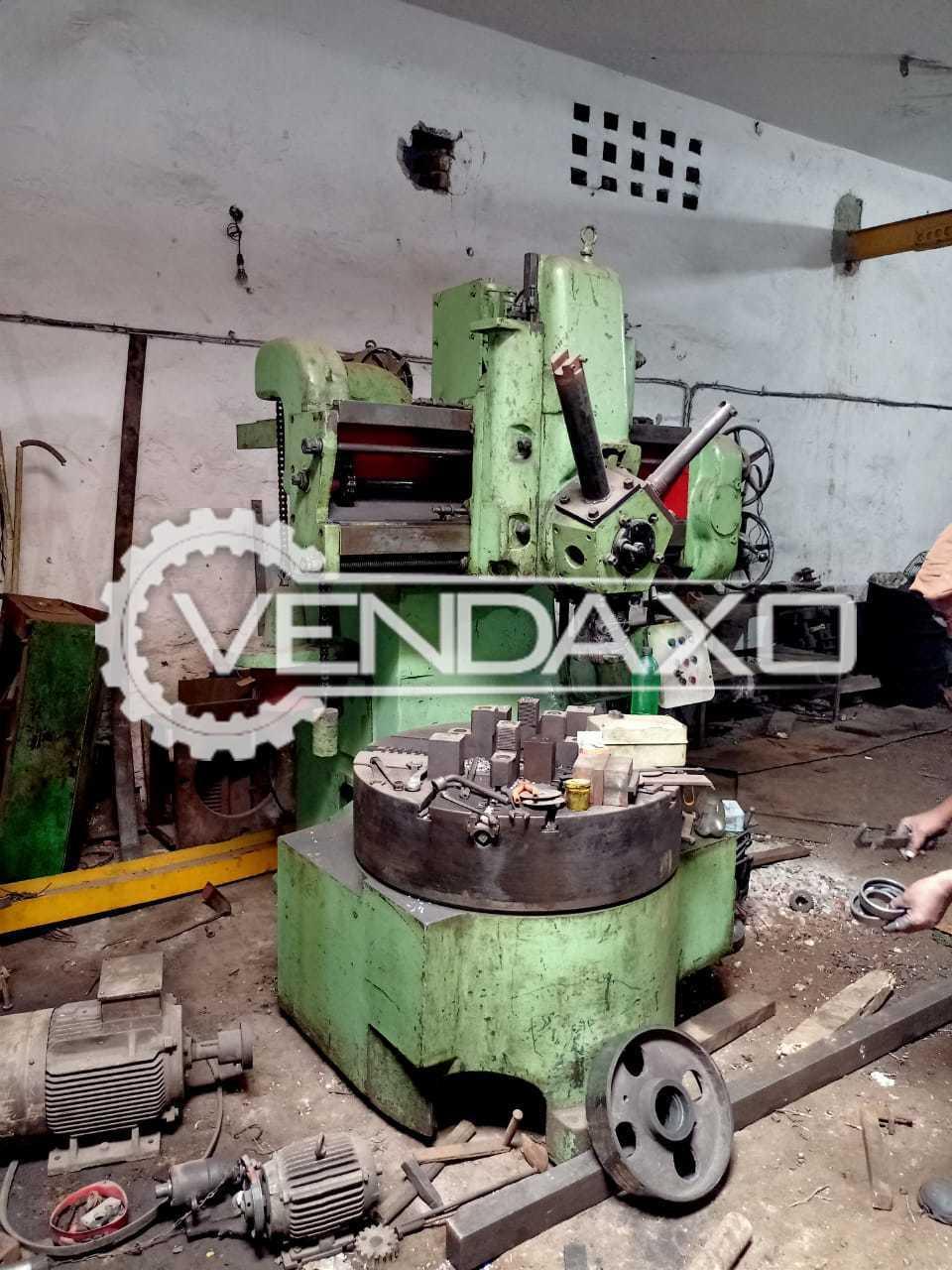 Webster & Bennett Vertical Turret Lathe VTL - Chuck Size - 900 mm