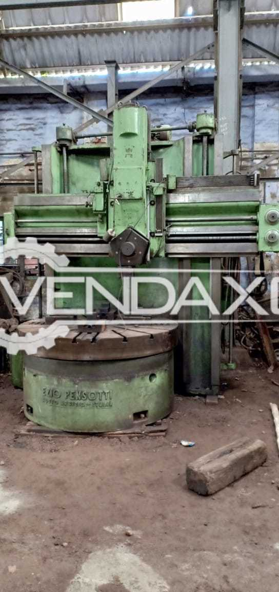 Pensotti Vertical Turret Lathe VTL - Chuck Size - 1800 mm