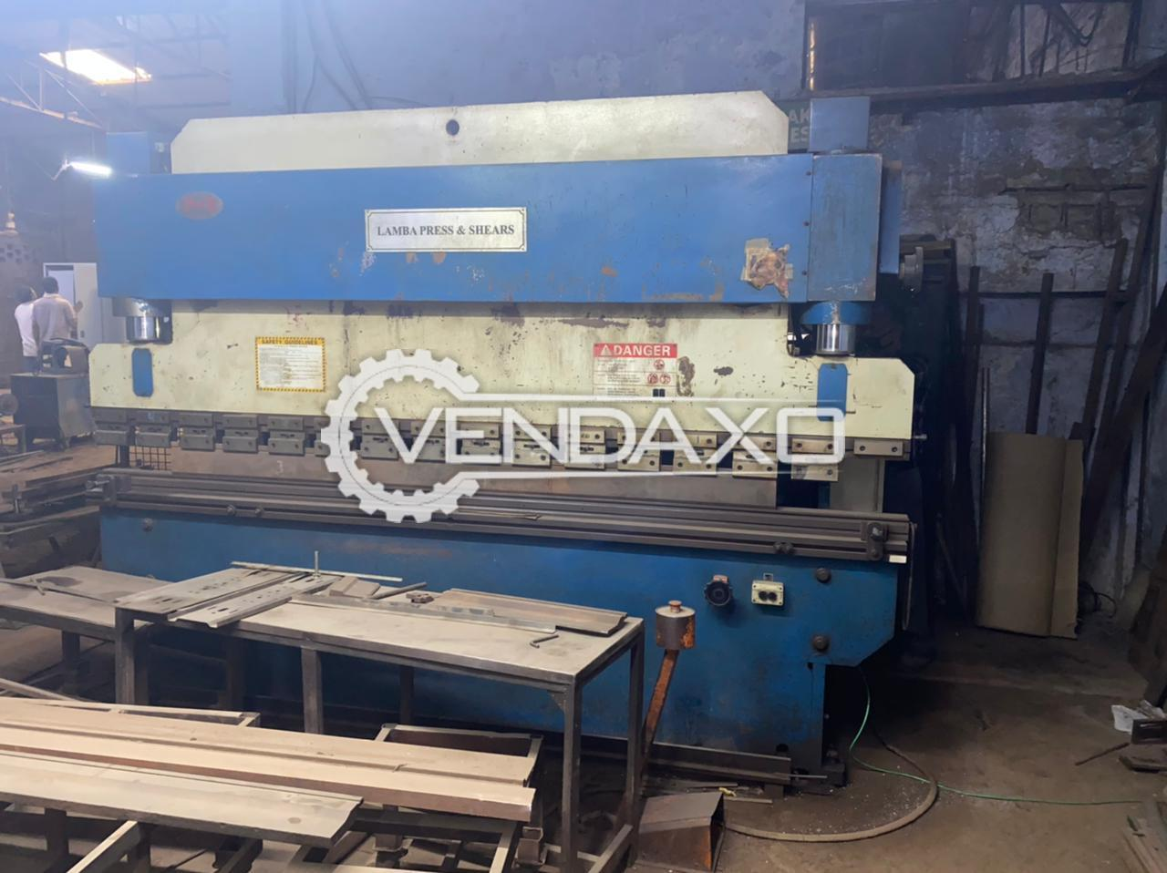 Lamba 80 Press Brake Machine - 3200 mm x 80 Ton
