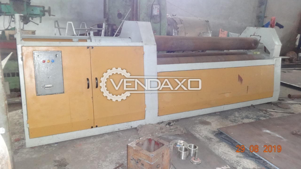 Available For Sale PrePunching Plate Rolling Machine