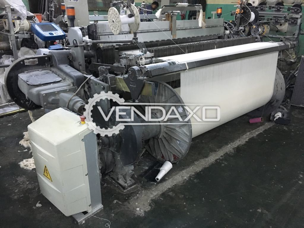 Vamatex Leonardo Silver Rapier Loom Machine - Width - 190 CM
