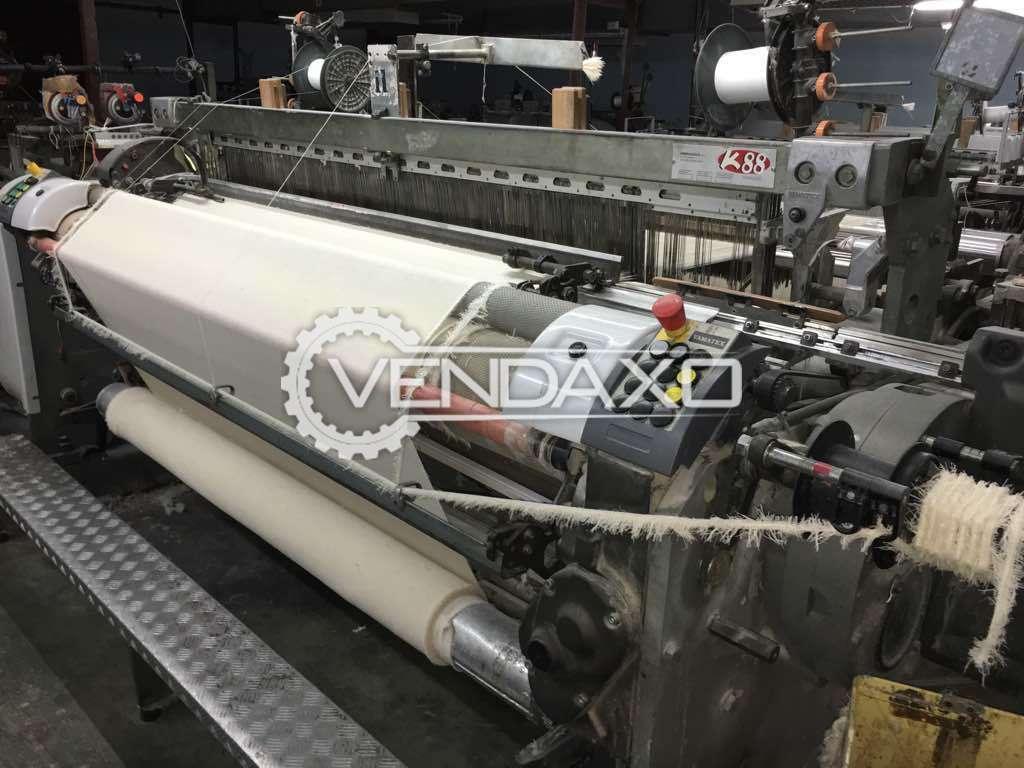 Vamatex K88 Rapier Loom Machine - Width - 190 CM