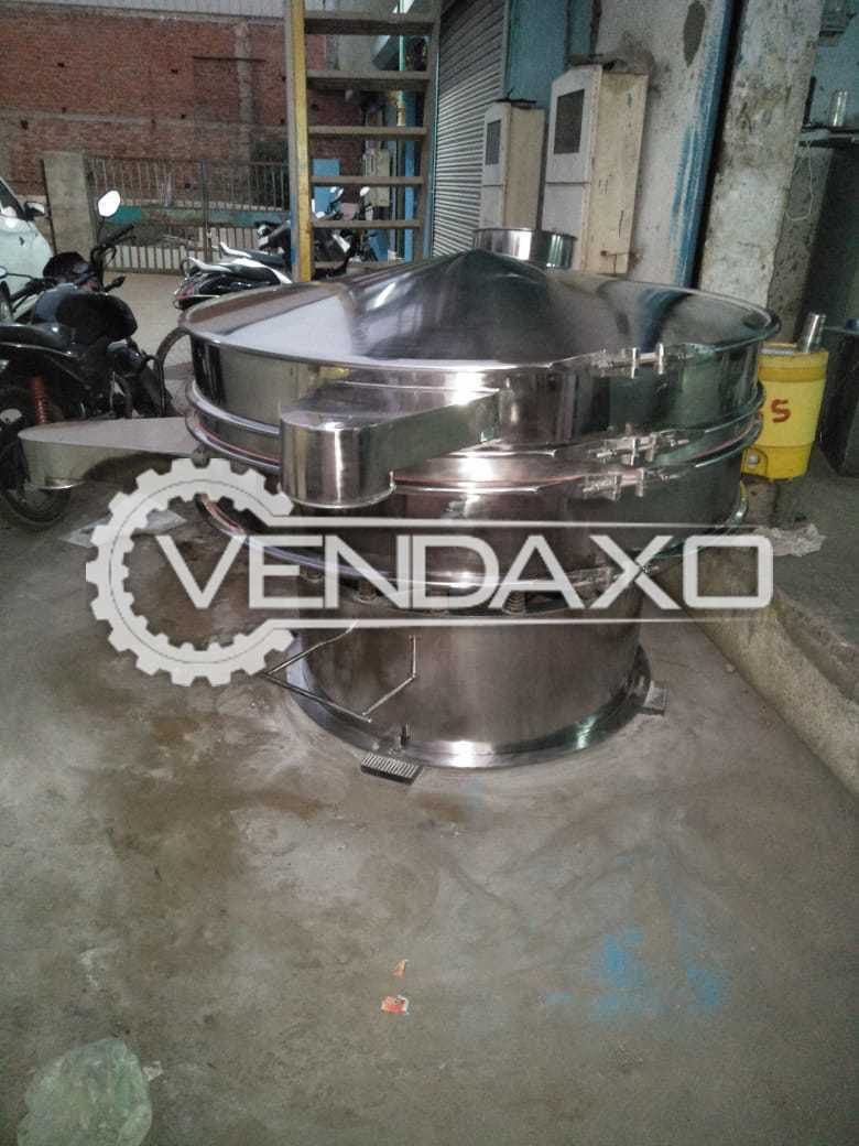 SS 316 Center Flange Vibro Sifter - 60 Inch