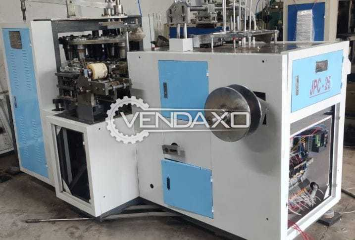 For Sale Used JPC 25 Paper Cup Production Plant