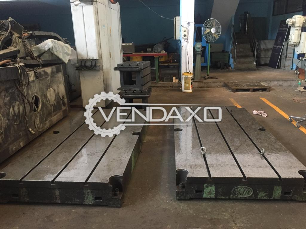 For Sale Used 2 Set OF Floor Plates - 2420 x 1200 mm