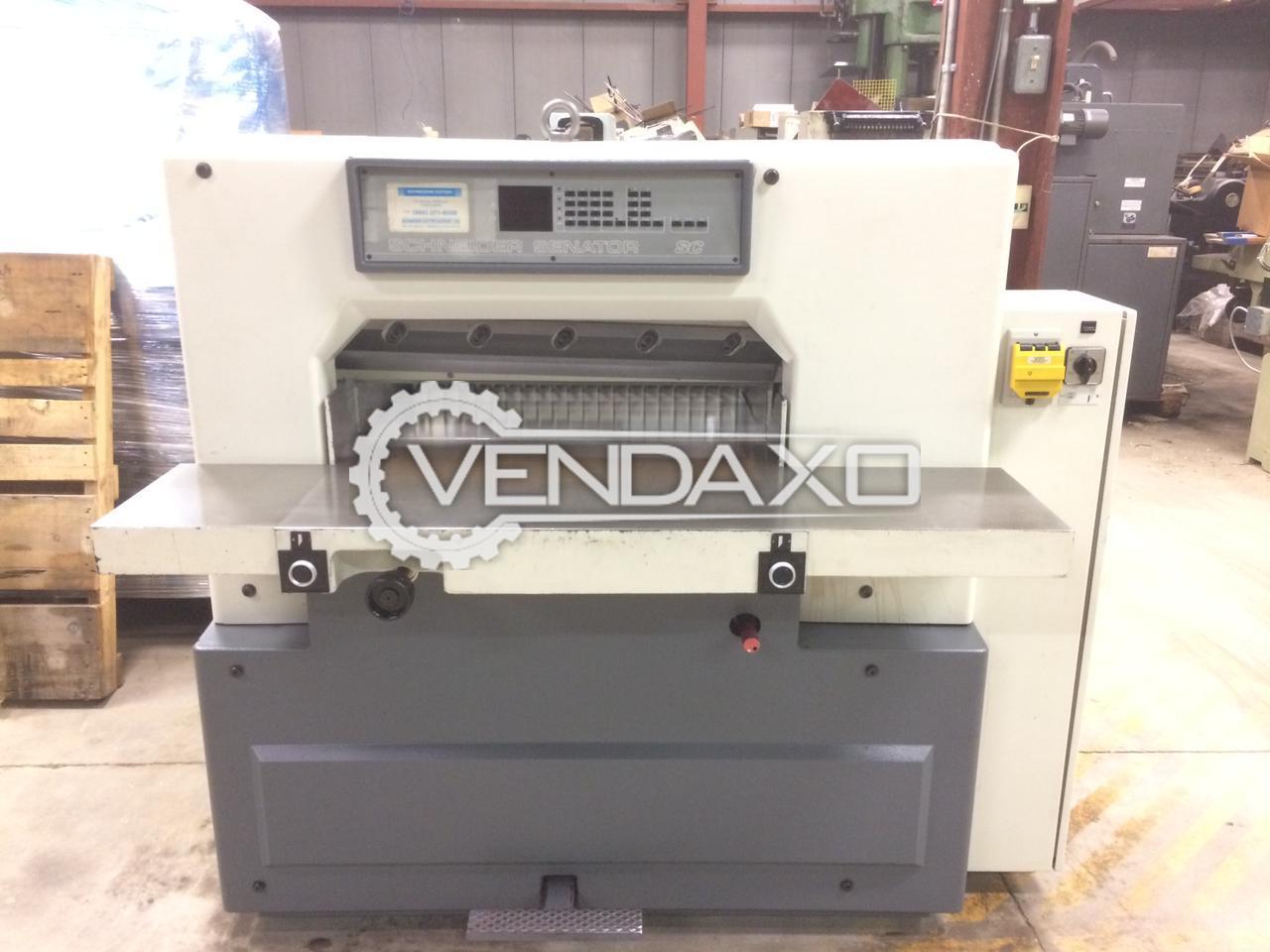 Schneider Senator 76 Paper Cutting Machine - 30 Inch