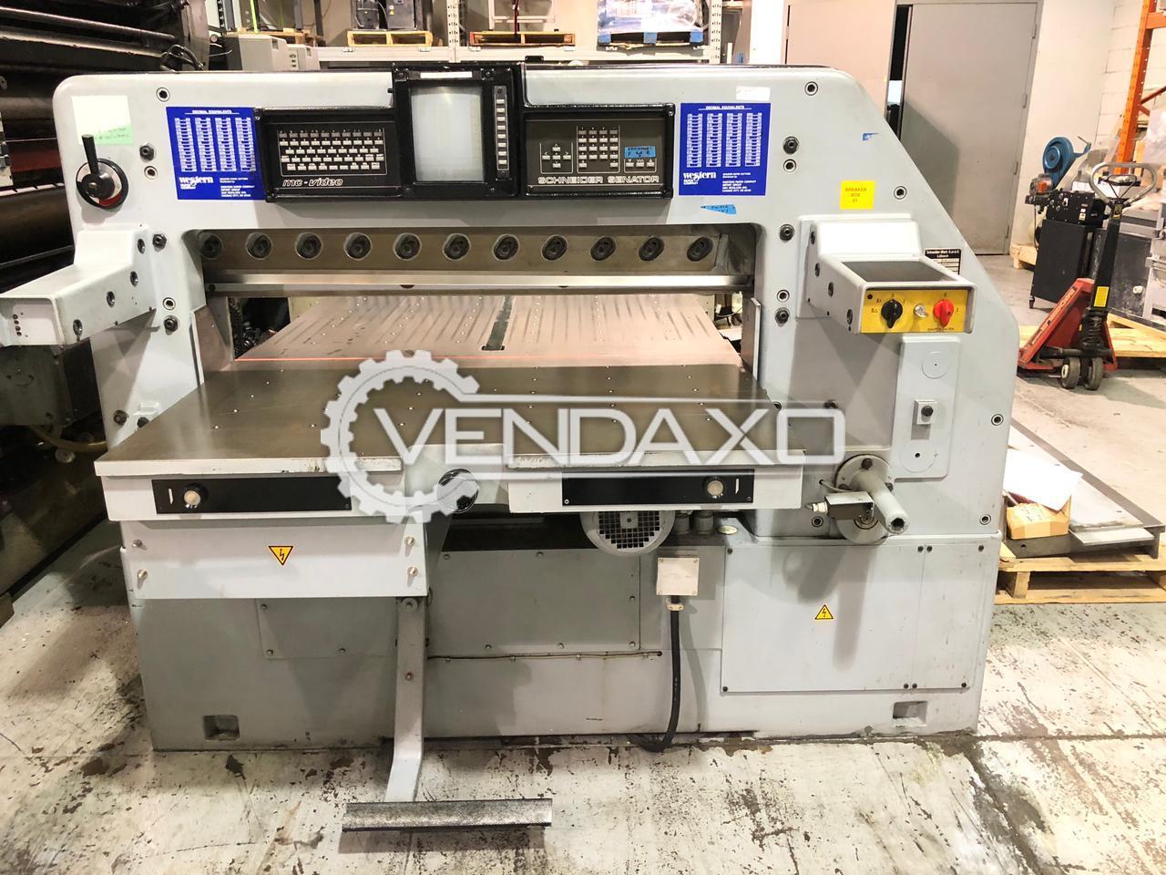Schneider Senator 115 Paper Cutting Machine - 45 Inch