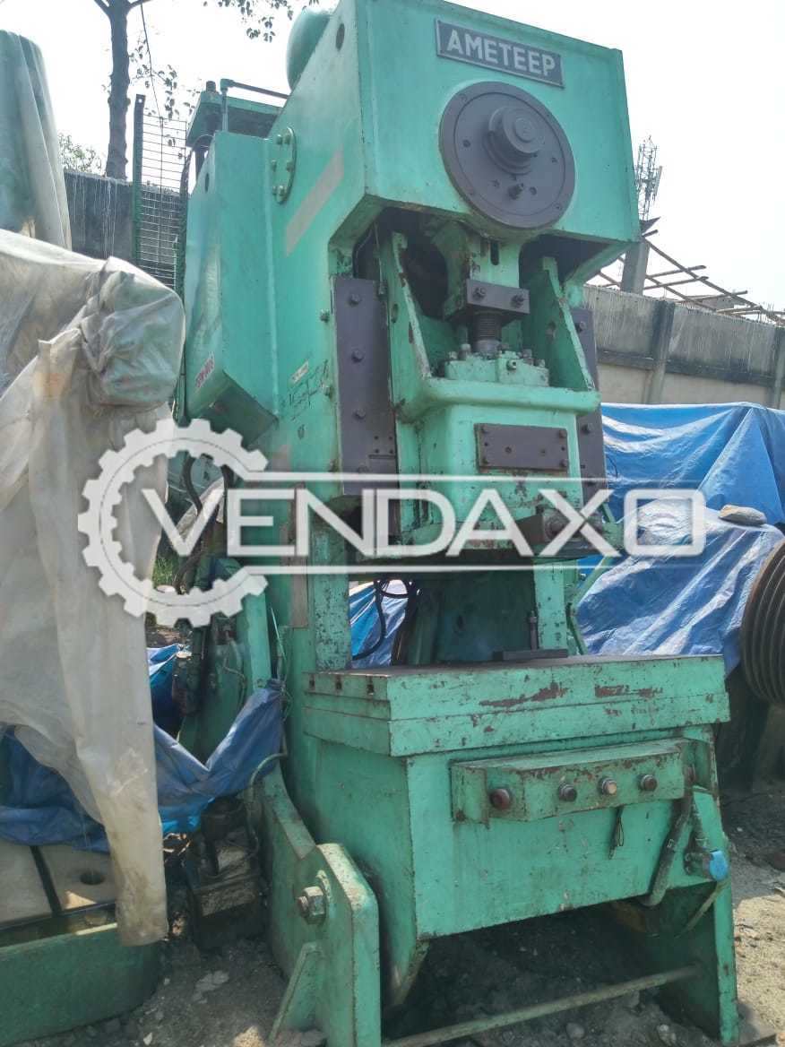 Ameteep Mechanical Power Press Machine - 63 Ton
