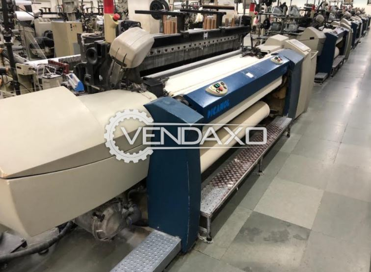 Picanol Gammax Loom Machine - Width - 190 CM