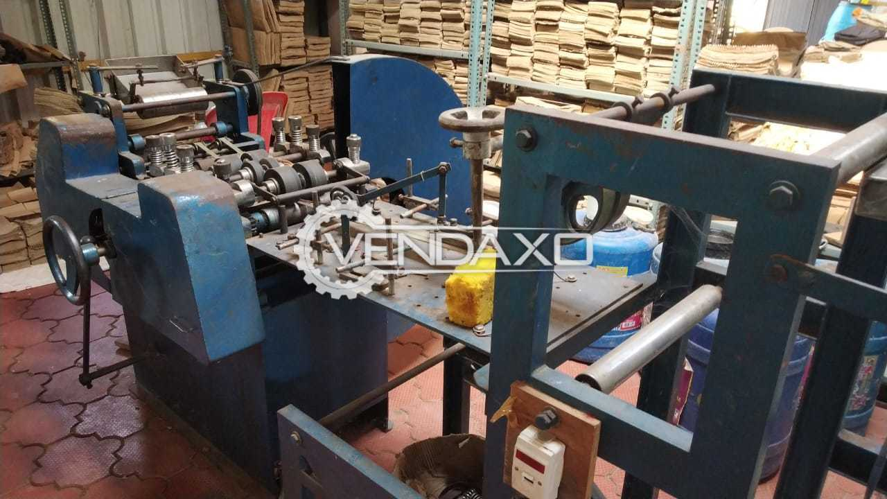 For Sale Used Paper Cover Machine - Small Size