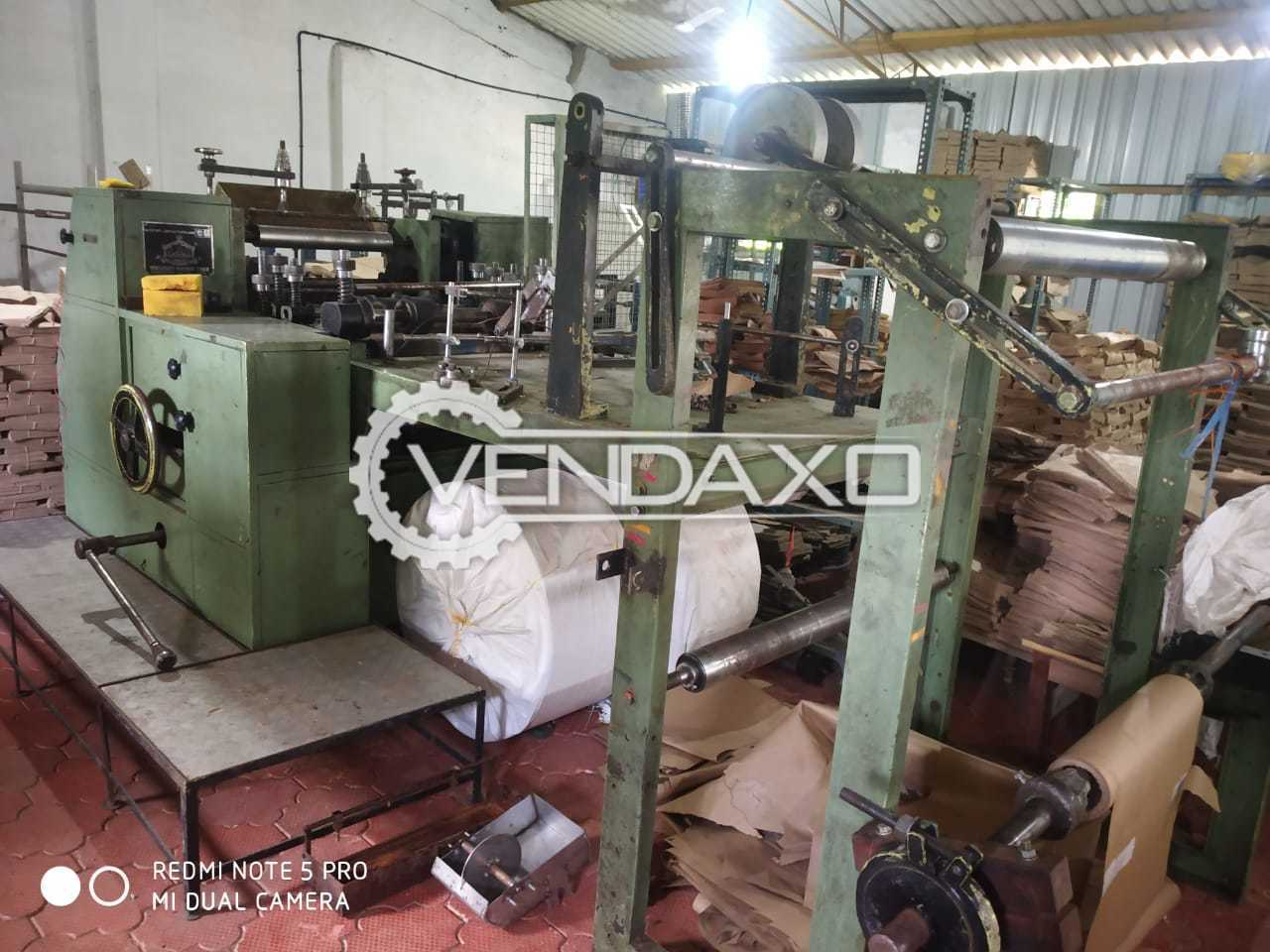 For Sale Used Paper Cover Machine - Jumbo Size