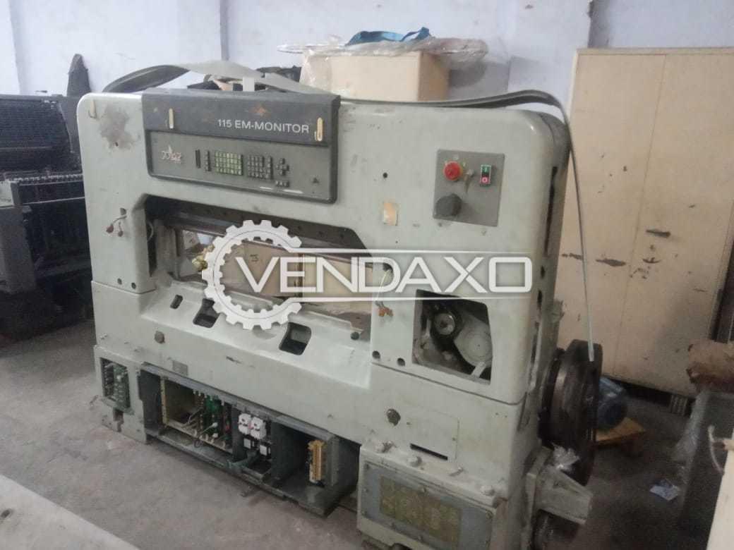 Polar Mohr 115 EMC Monitor Paper Cutting Machine - 45 Inch