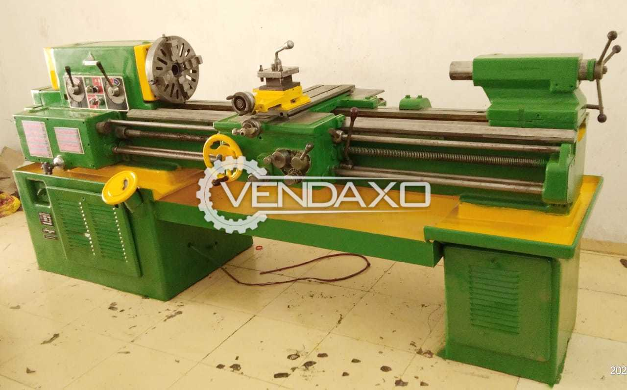 For Sale Used TOS Lathe Machine - Length - 1450 mm