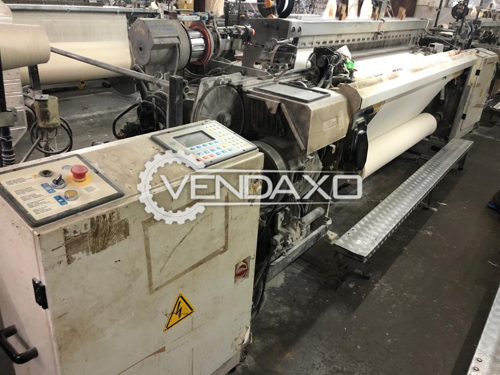 Vamatex P1001ES Rapier Weaving Machine - Width - 210 cm