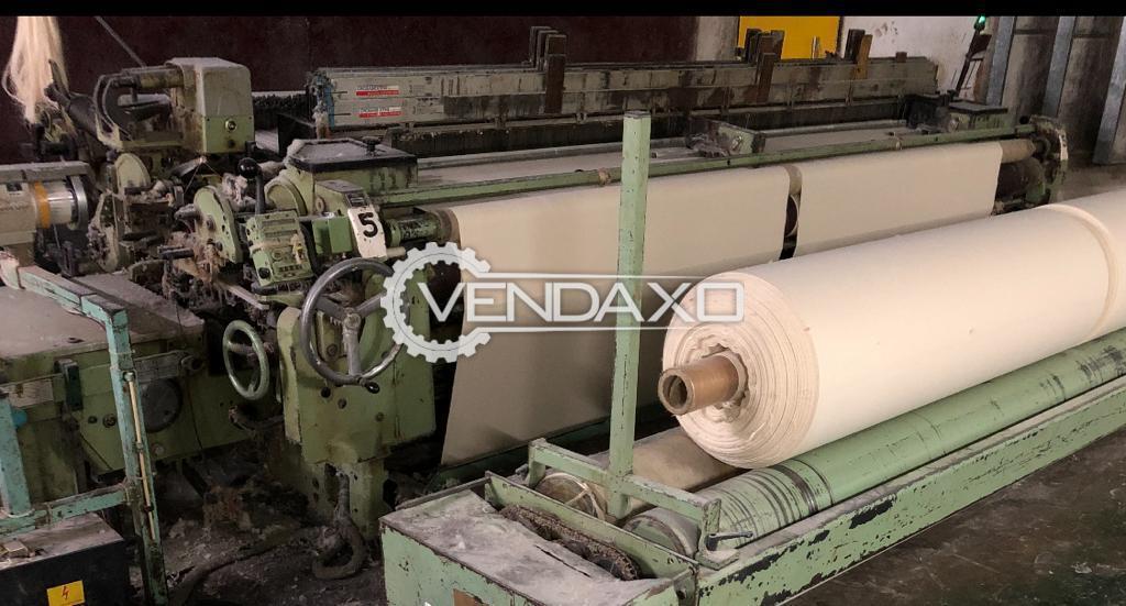 2 Set OF Sulzer TW11 Weaving Machine - 330 CM