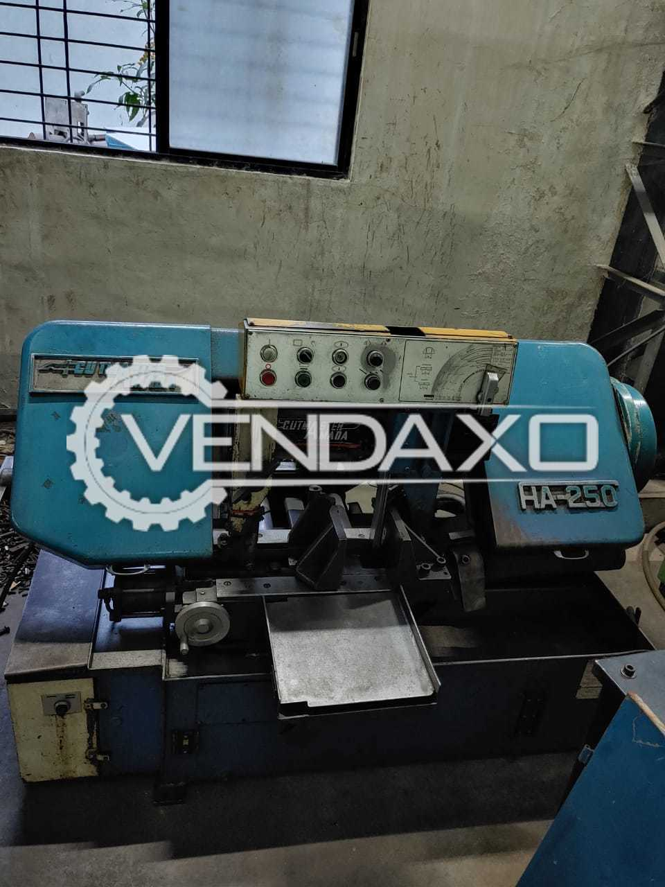 Amada HA-250 Fully Automatic Cutting Machine - Diameter - 250 mm