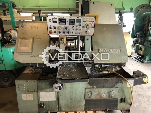Amada HA-400 Fully Automatic Cutting Machine - Diameter - 400 mm