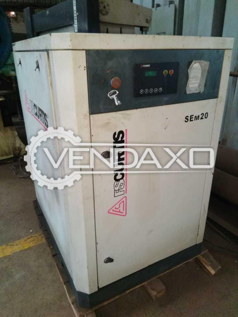 FSCURTIS SEM20 Screw Air Compressor - 20 HP