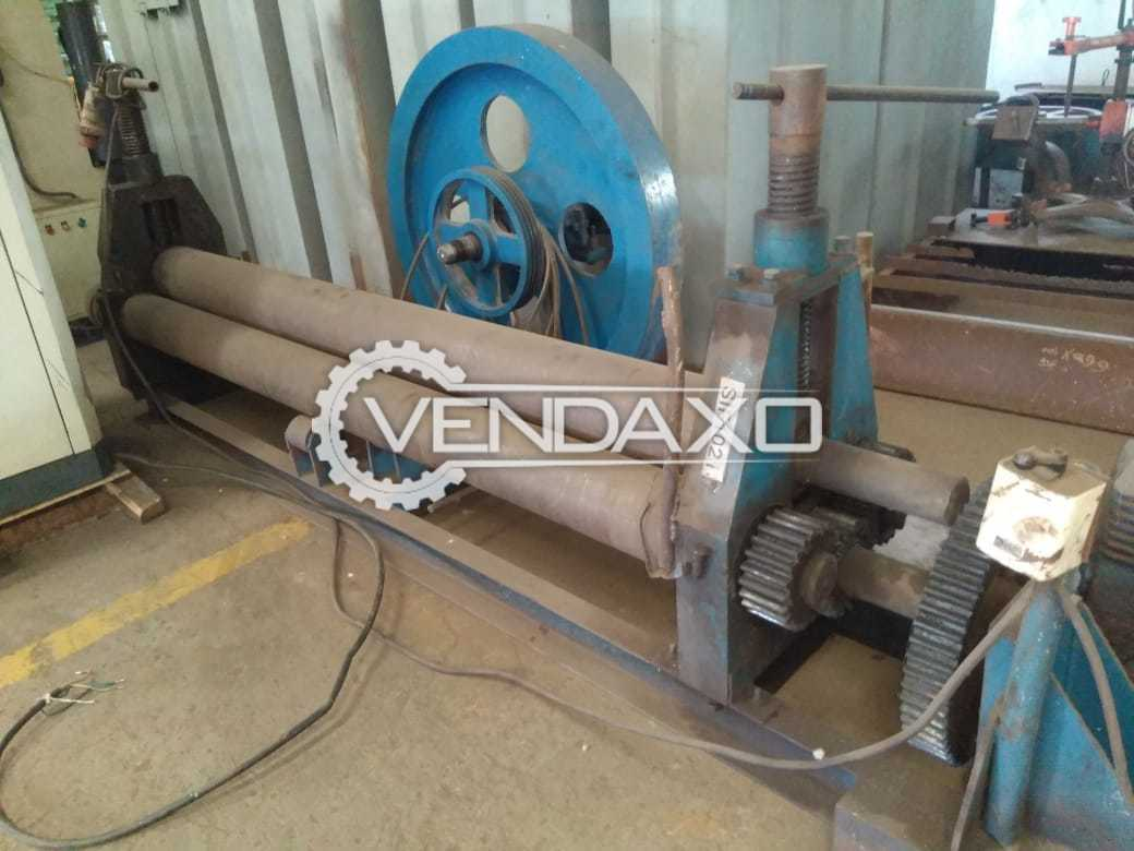 For Sale Used Rolling Machine - 3000 x 8 mm