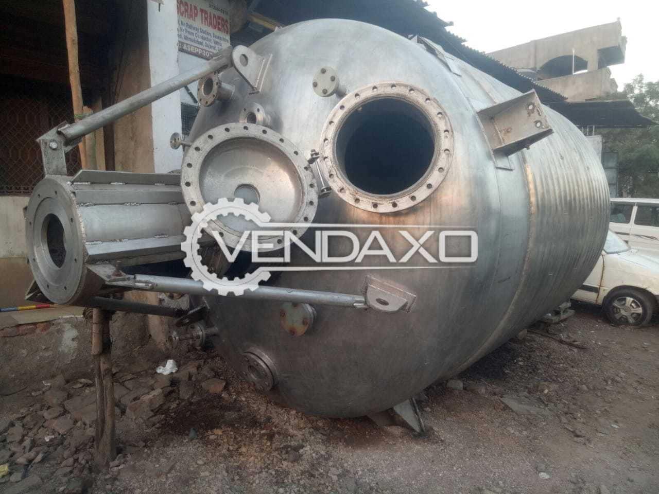 For Sale Used SS Reactor - 15 KL