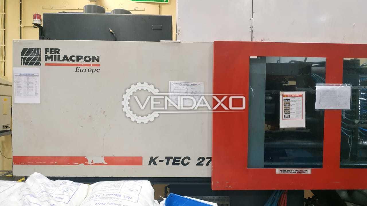 Ferromatik Milacron K-TEC 275 Injection Moulding Machine - 275 Ton