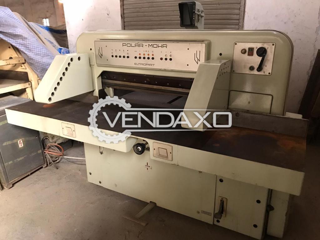 Polar Mohr 92CE Paper Cutting Machine - Size - 36 Inch