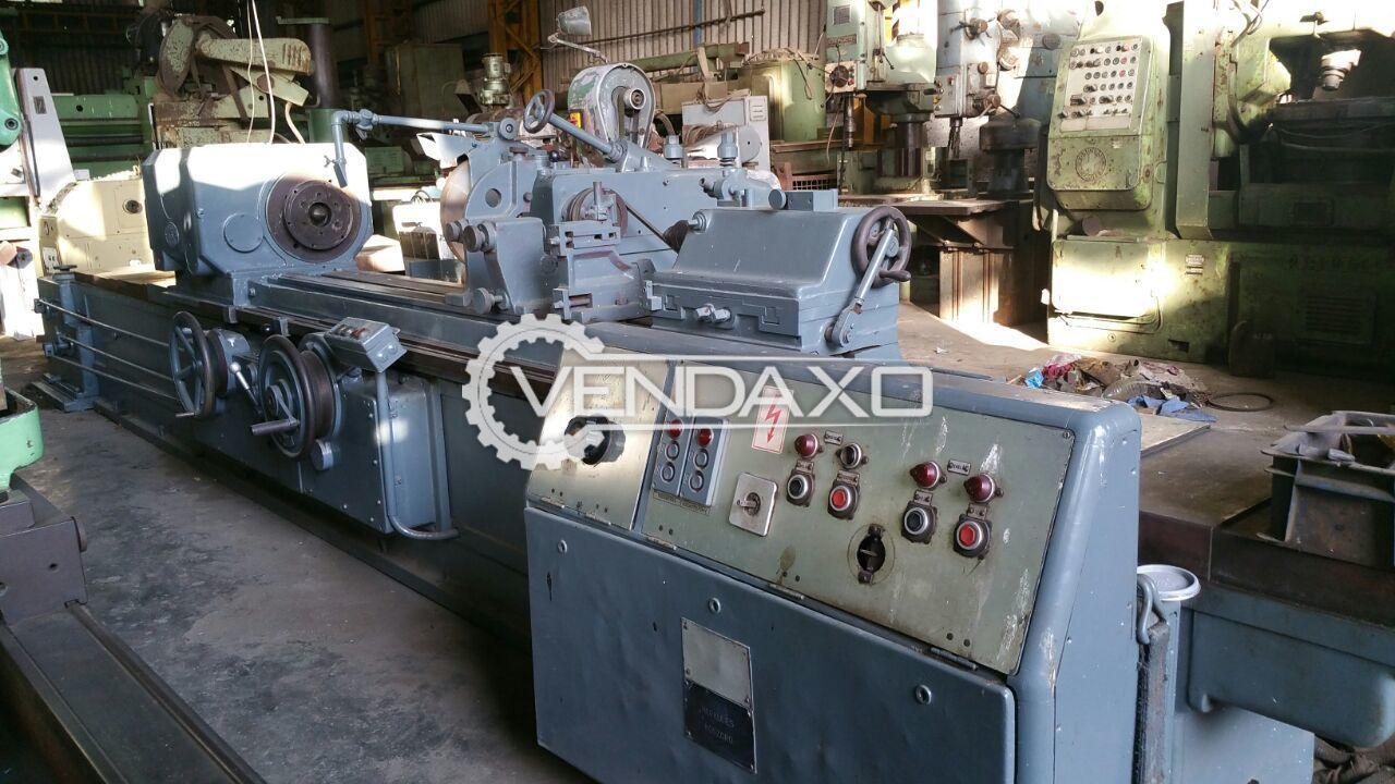 Herkules Hydraulic Cylindrical Grinding Machine - Job Length - 2000 mm