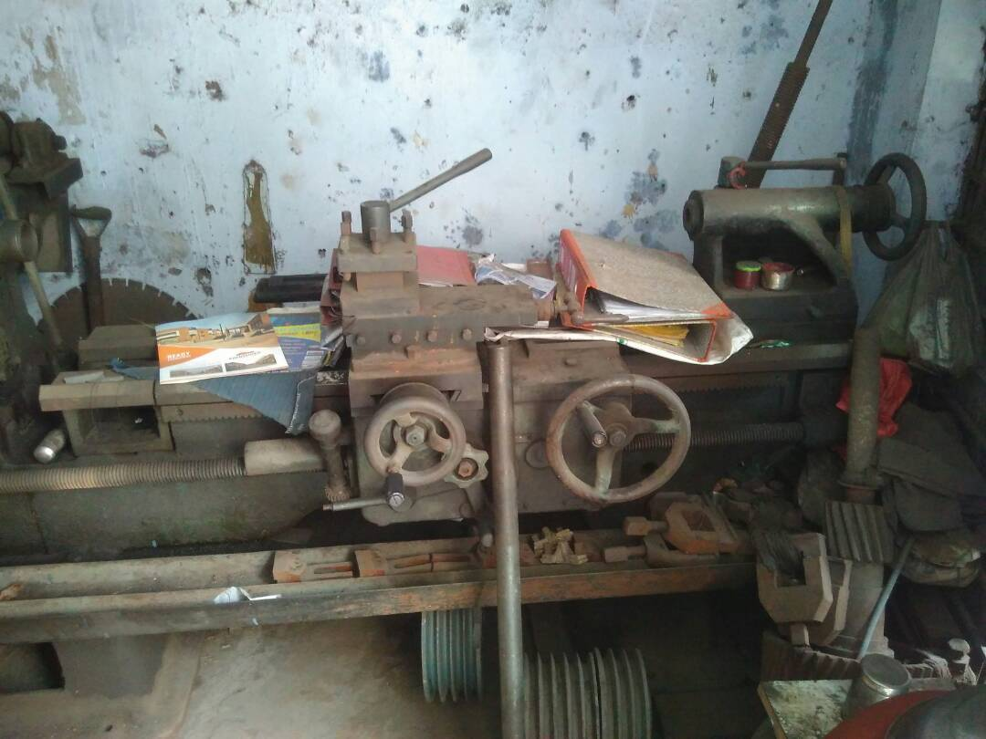 Lathe machine 2