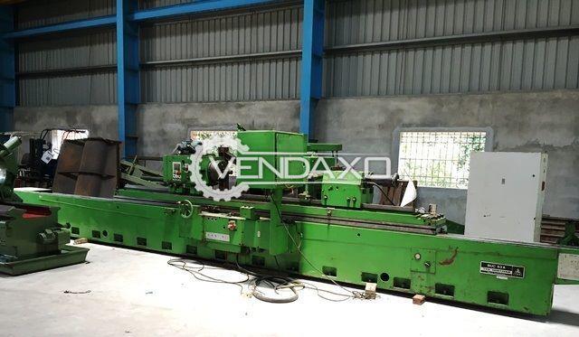 TOS Hostivar BUC63A Cylindrical Grinding Machine - Grinding Length - 3000 mm