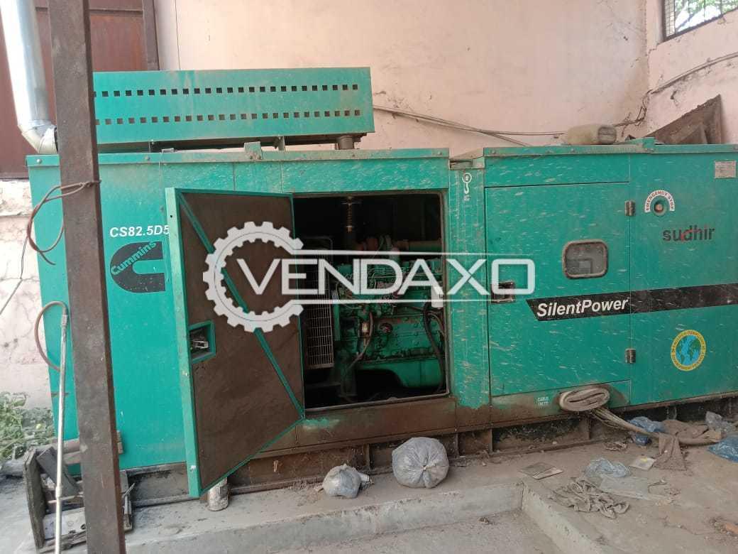 Cummins Sudhir Diesel Generator - 82.5 Kva
