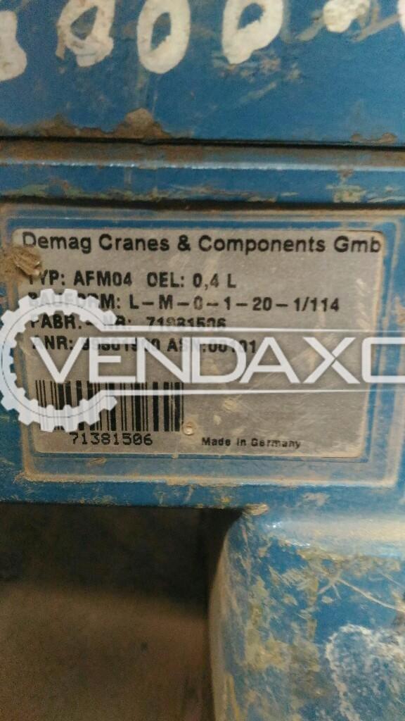 Demag gear box