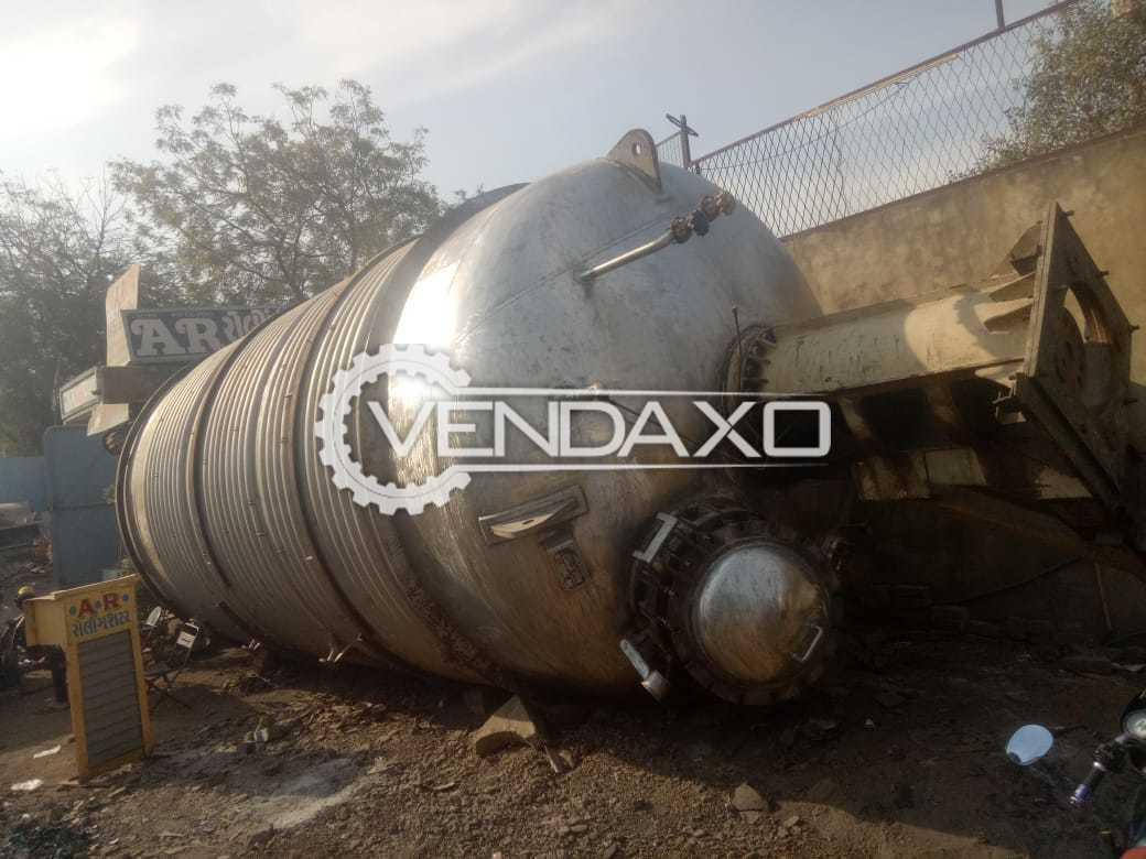 For Sale Used SS Process Vessel - 50 KL