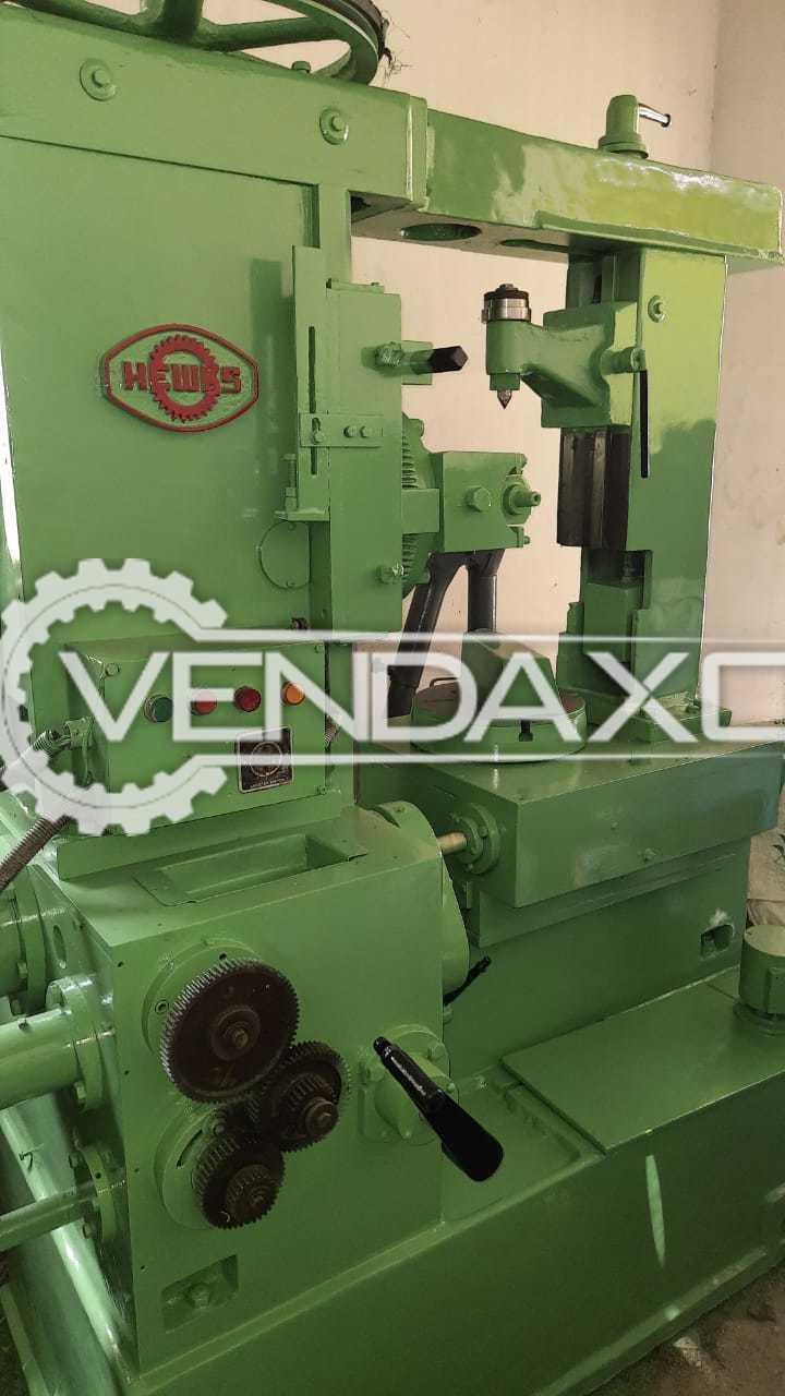 Hewks Gear Hobbing Machine - 4 Module