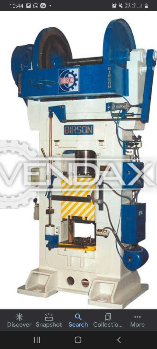 Birson Friction Power Press - 1000 Ton