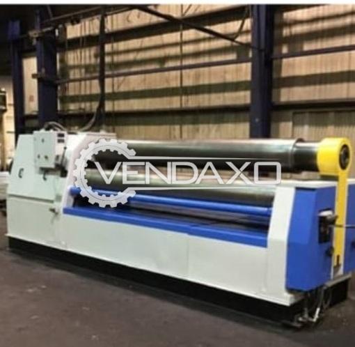 LVD Hydraulic Prepinch Machine - 3 Meter x 30 mm