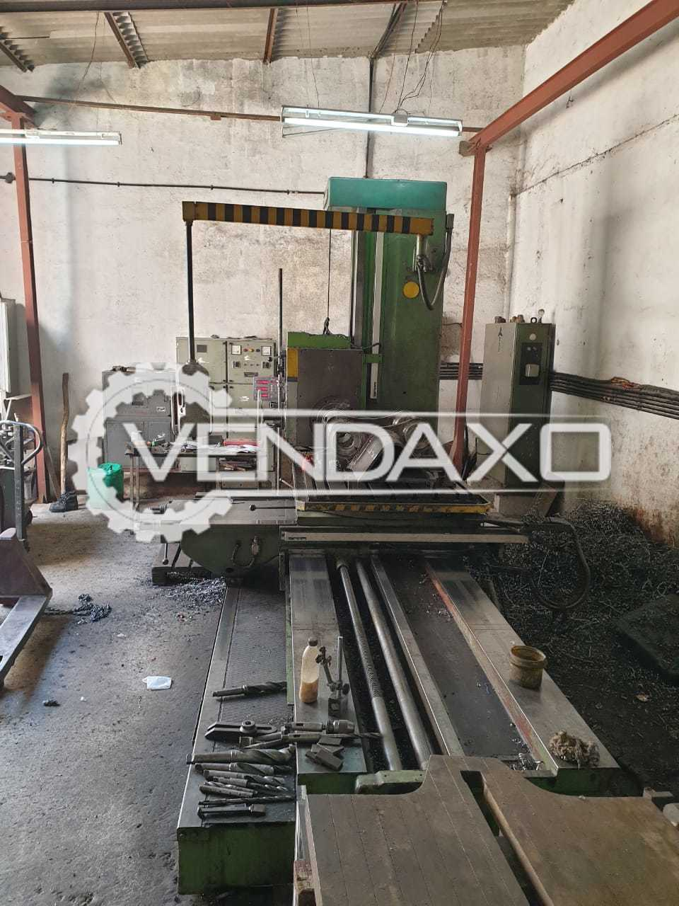 TOS W9A Horizontal Boring Machine - Spindle Size - 90 mm