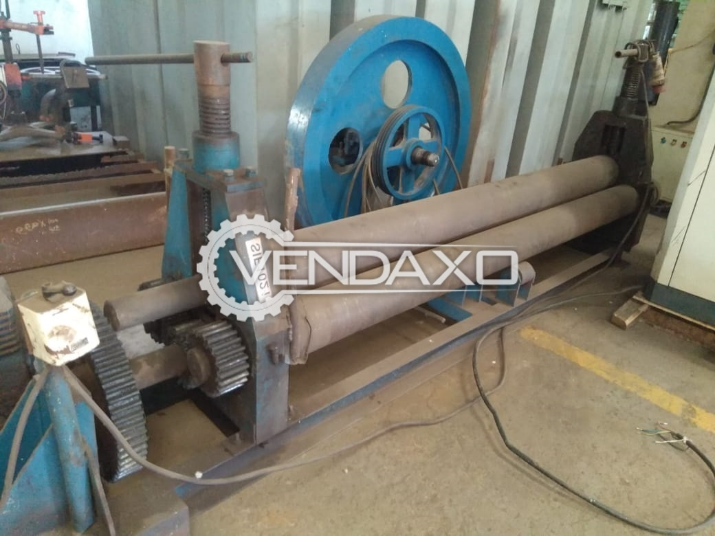 For Sale Used Sheet Rolling Machine - 2500 x 8 mm