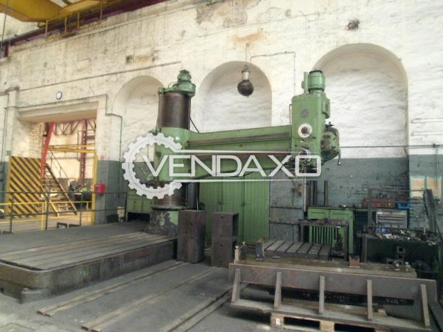 KOLB Radial Drilling Machine - 3200 x 100 mm