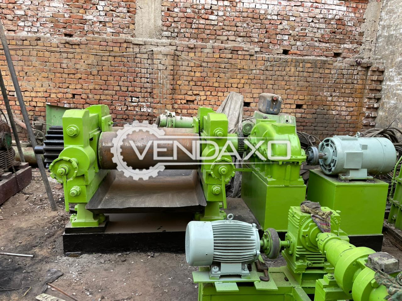 Mumbai Make Bush Type Mixing Mill - 16 x 42 Inch