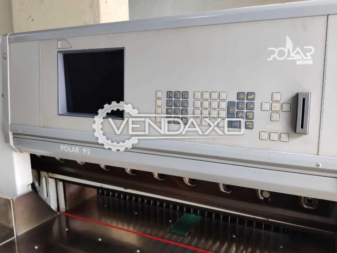 Polar Mohr 92E Paper Cutting Machine - 36 Inch