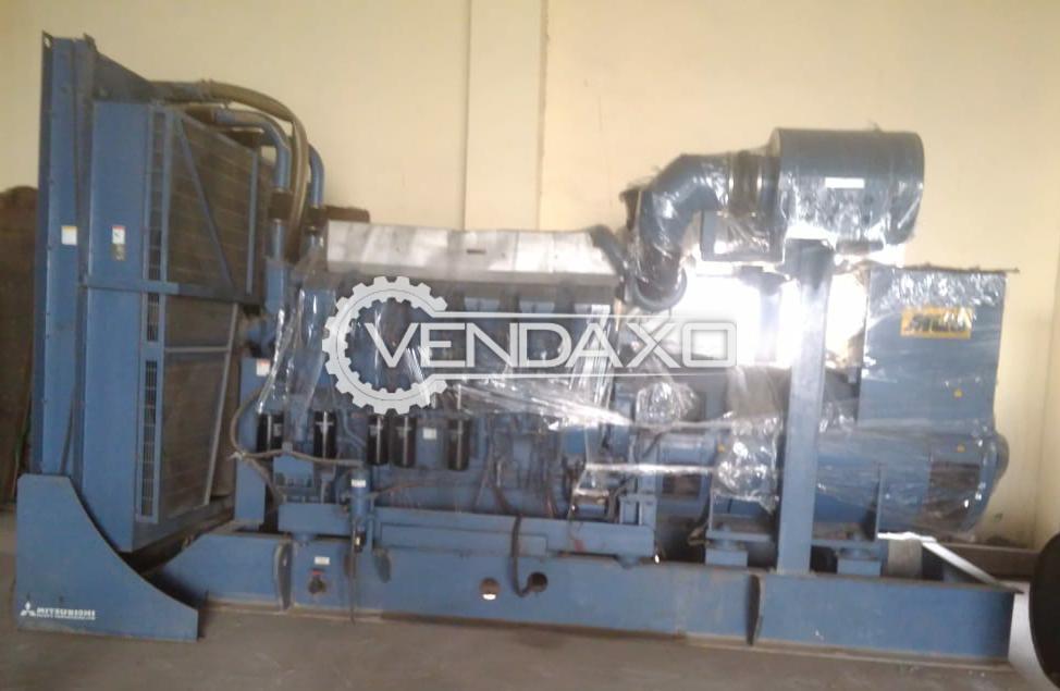 Mitsubishi Generator Engine - 1450 Kva