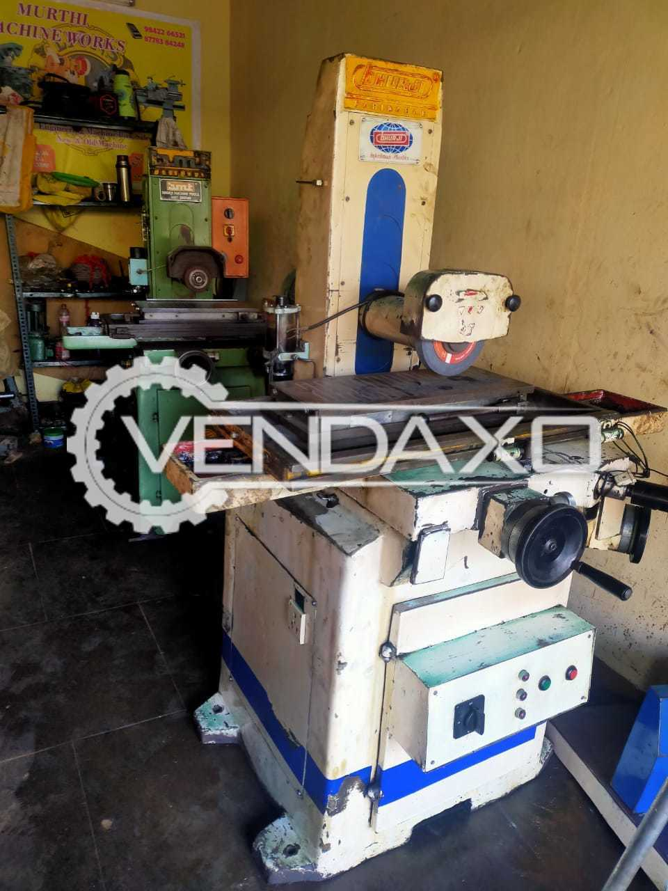 2 Set OF Bhurji Surface Grinding Machine - 500 x 200 mm