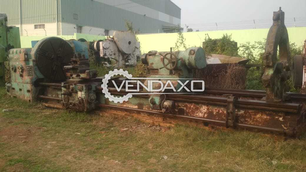 HEC SKODA All Geared Roll Turning Lathe Machine - 5000 x 625 mm