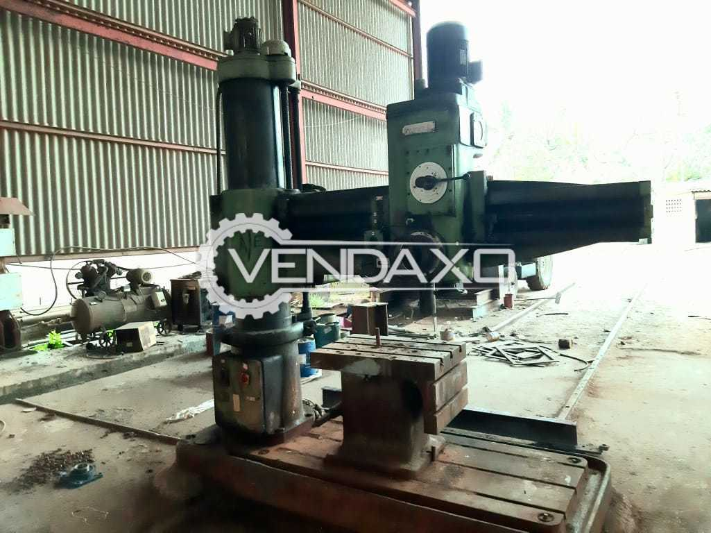 HMT RM63 Radial Drill Machine - 50 mm