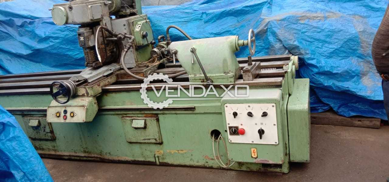 WMW Heckert Cylindrical Grinder Machine - 3150 x 250 mm