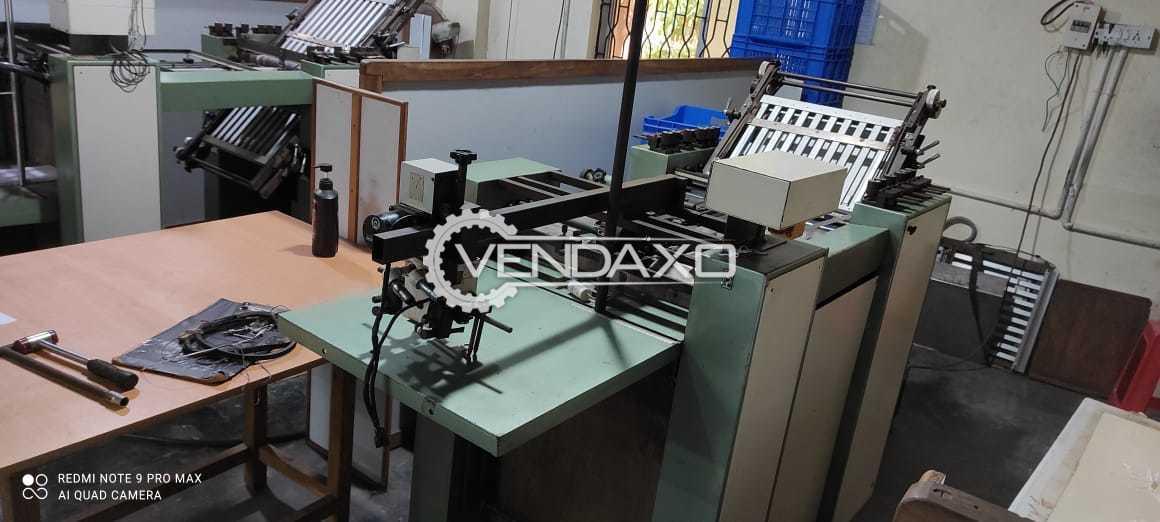 Shoei High Speed Paper Folding Machine - 18 x 23 Inch