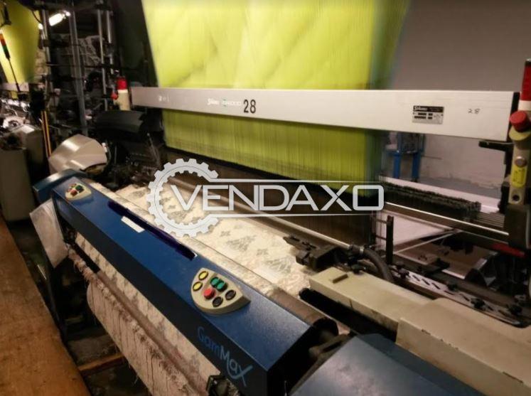 Picanol Gammax Rapier Loom Machine - Width - 340 CM