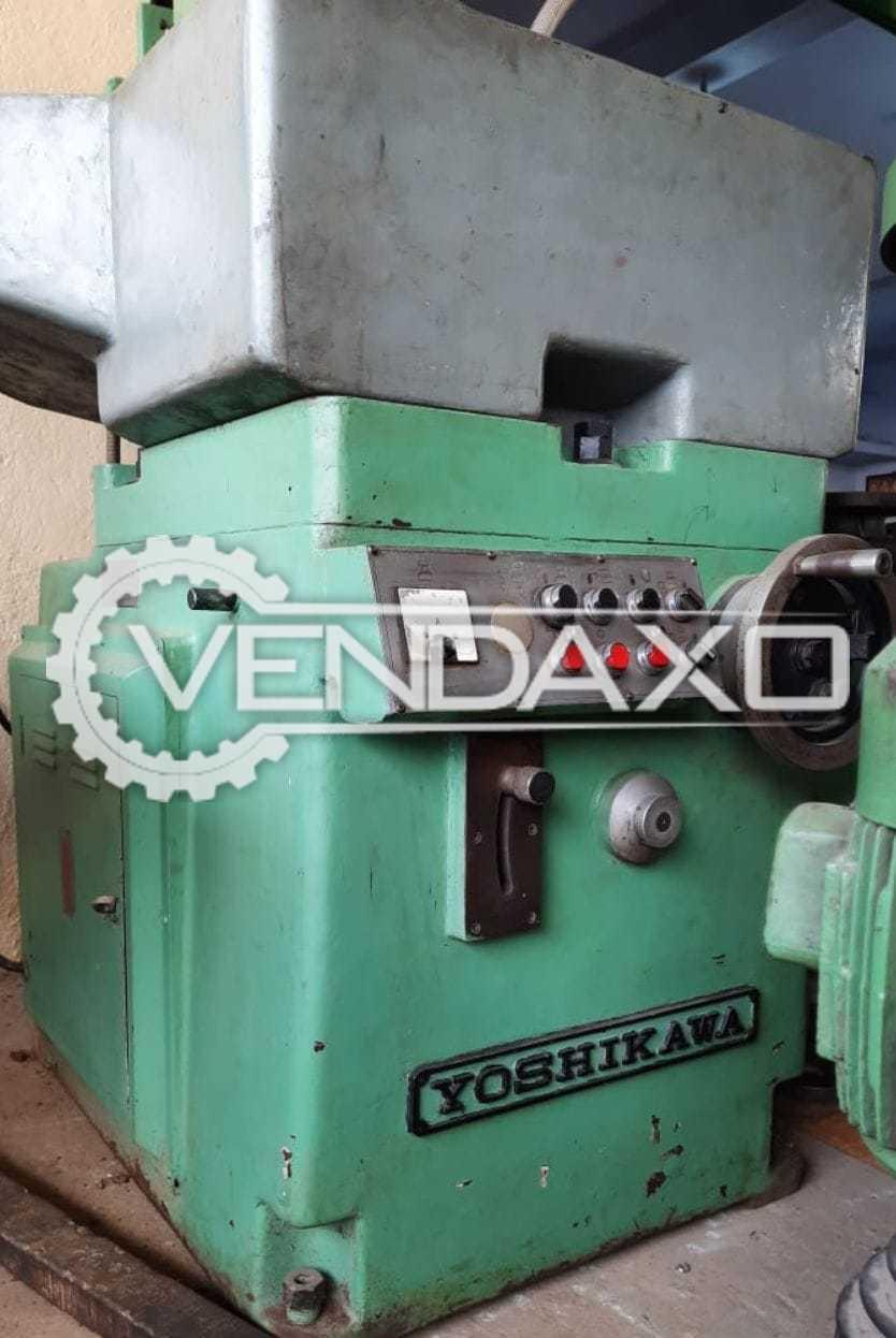 Yoshikawa Rotory Table Grinding Machine - Wheel Diameter - 300 mm